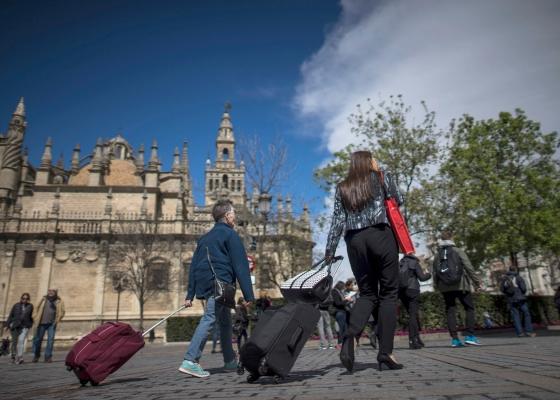 Andalucía registró una ocupación cercana al 86% en los hoteles y más de 625.000 pernoctaciones durante el puente
