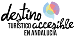 Logo Accessible tourist destination in Andalusia. Go to the main page