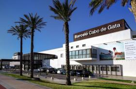 Hotel Barcelo Cabo de Gata. Vista exterior