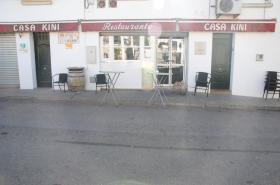 Restaurante Casa Kini. Acceso.