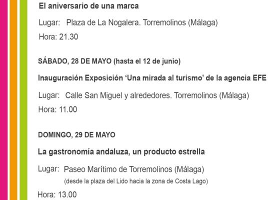 La Junta celebra el próximo fin de semana en Torremolinos el 10º aniversario de la marca Andalucía