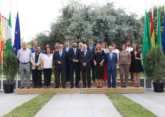 Francisco Javier Fernández asistió a la celebración del Día de la Provincia 2017 de Sevilla, en la que entregan los galardones a personalidades y entidades