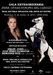 La gala especial 'Jerez Ciudad Europea del Caballo' de la REAAE tendrá como protagonista a la soprano Ainhoa Arteta