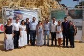 La Junta lleva a la playa de Mazagón una acción promocional para fidelizar turistas y difundir la calidad del litoral onubense