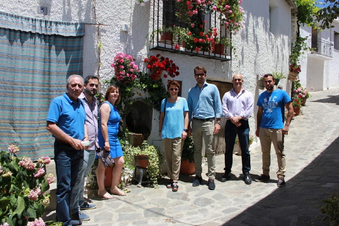 La Junta valora la capacidad de innovación turística del destino de la Alpujarra granadina