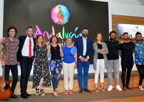 La Junta lanza la acción 'Andalucía es Música' para captar viajeros atraídos por la programación de festivales de verano