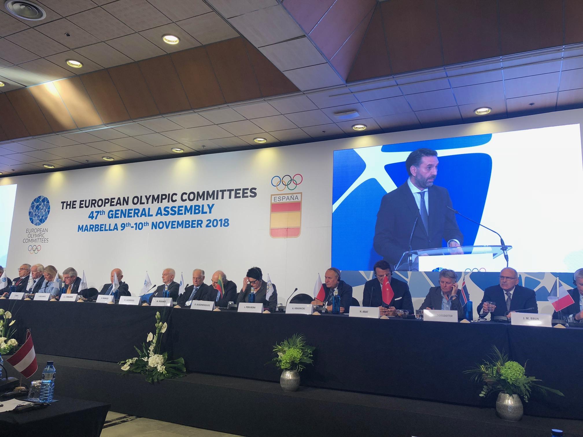 Fernández destaca la importancia del movimiento olímpico como herramienta para desarrollar valores en la sociedad