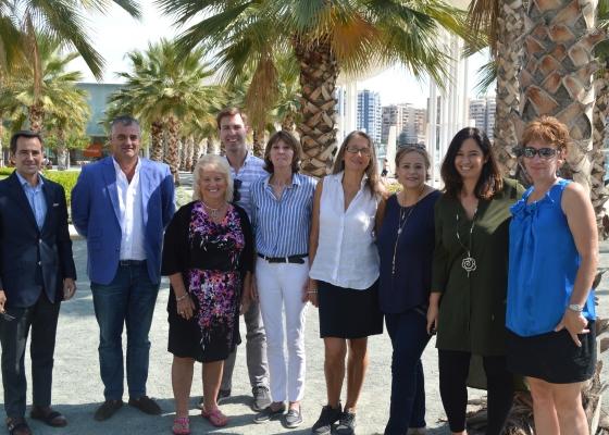Profesionales de Estados Unidos visitan Andalucía en una acción con Delta para reforzar la comercialización del destino