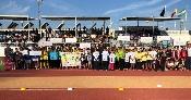 Un centenar de alumnos andaluces de diez centros educativos de primaria participan en la 'Olimpiada Escolar 2018'