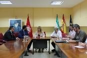 El consejero de Turismo y Deporte se reúne con representantes de UGT-A