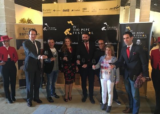 Fernández destaca la consolidación del Tío Pepe Festival como reclamo de turismo cultural y enogastronómico