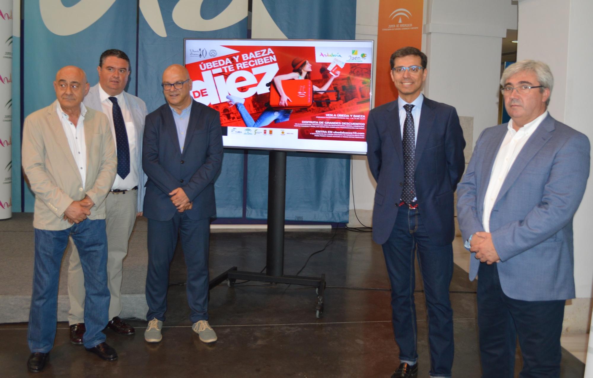 La Junta respalda la campaña 'Úbeda y Baeza te reciben de diez' por su apuesta por la desestacionalización