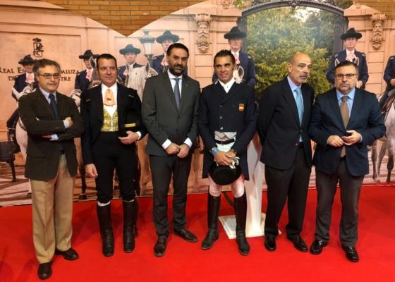 Fernández destaca el papel de ANCCE y la REAAE en la defensa de la tradición ecuestre y de la cultura del caballo