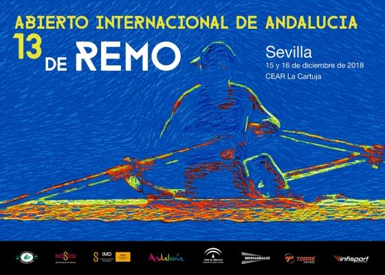 Más de 700 deportistas de 36 clubes participarán en Sevilla en el Abierto Internacional de Andalucía de Remo