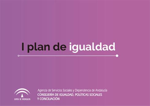 portada del I Plan de Igualdad ASSDA