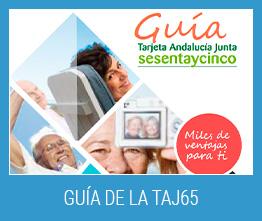 Guía de ventajas de la Tarjeta Andalucía Junta sesentaycinco