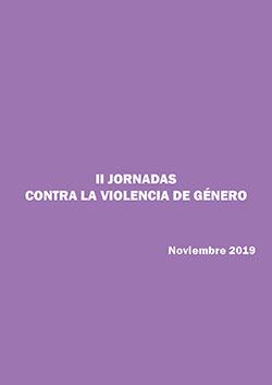 Portada del Dossier II JORNADAS CONTRA VG 2018