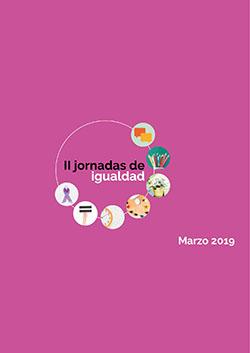 Portada del Dossier II JORNADAS IGUALDAD 2019
