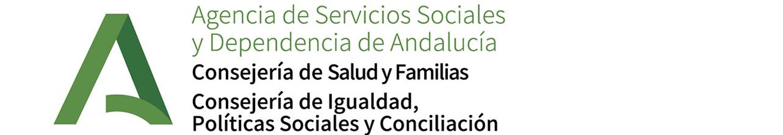 Logo de la Agencia de Servicios Sociales y Dependencia de Andalucía. Consejería de Igualdad y Políticas Sociales. Junta de Andalucía