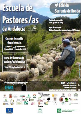 cartel escuela de pastores andalucía 2019
