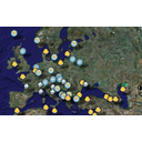 Muestra Imagen Weather Europe map