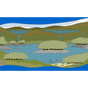 Show Lakes and rivers Image