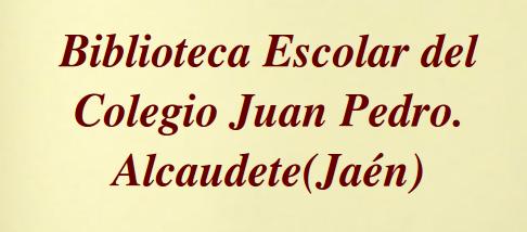 BIBLIOTECA COLEGIO JUAN PEDRO