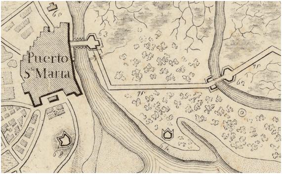 imagen 5 parque Detalle del plano de 1812, referencia de registro RM.27230, en Instituto Cartográfico de Cataluña