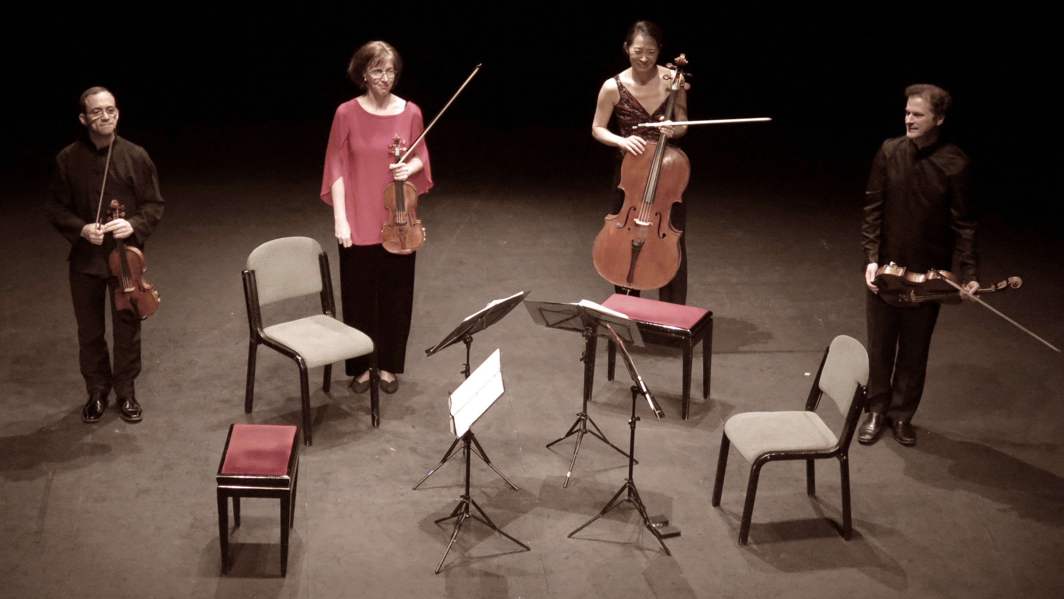 Cuarteto Brentano (Fotografía: María Marí-Pérez)