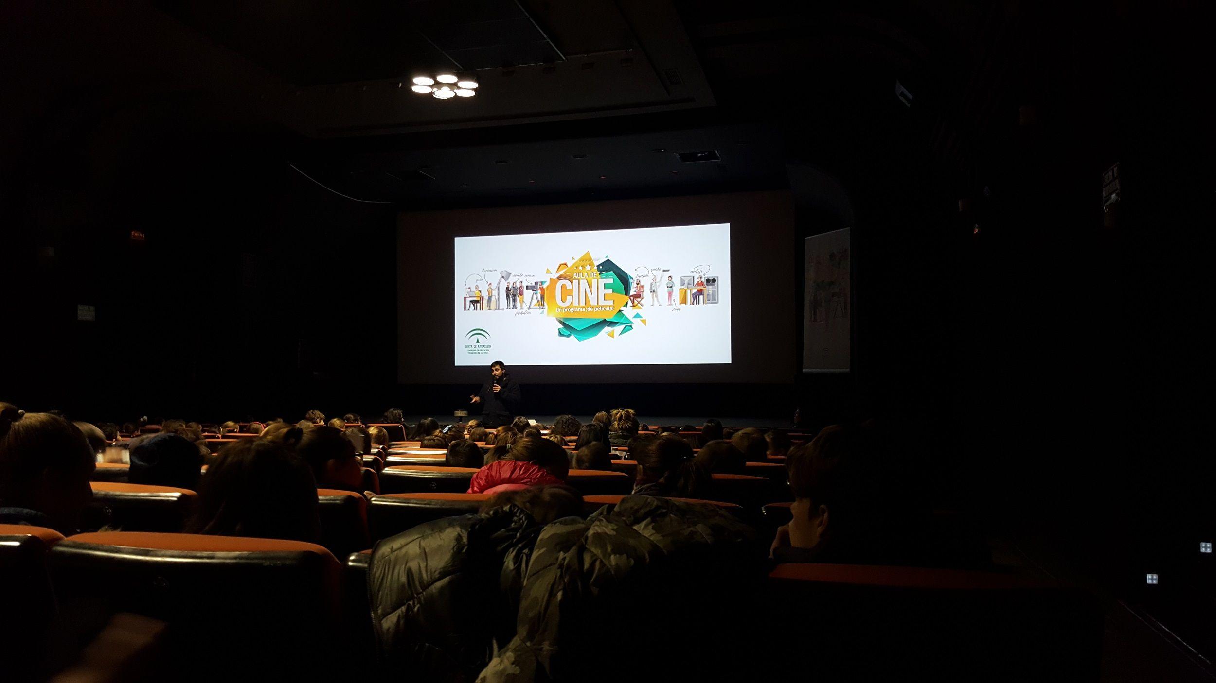 Presentación de 'Una mañana de cine'