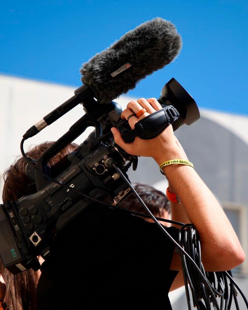 Alumnado del programa Aula de Cine Andalucía