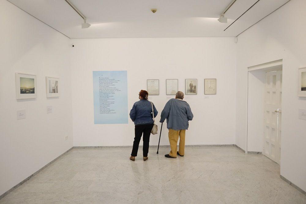 Joaquín Puga y José Ramón Ripoll. Exposición Música y Luz en Manuel de Falla © Jesús Heredia