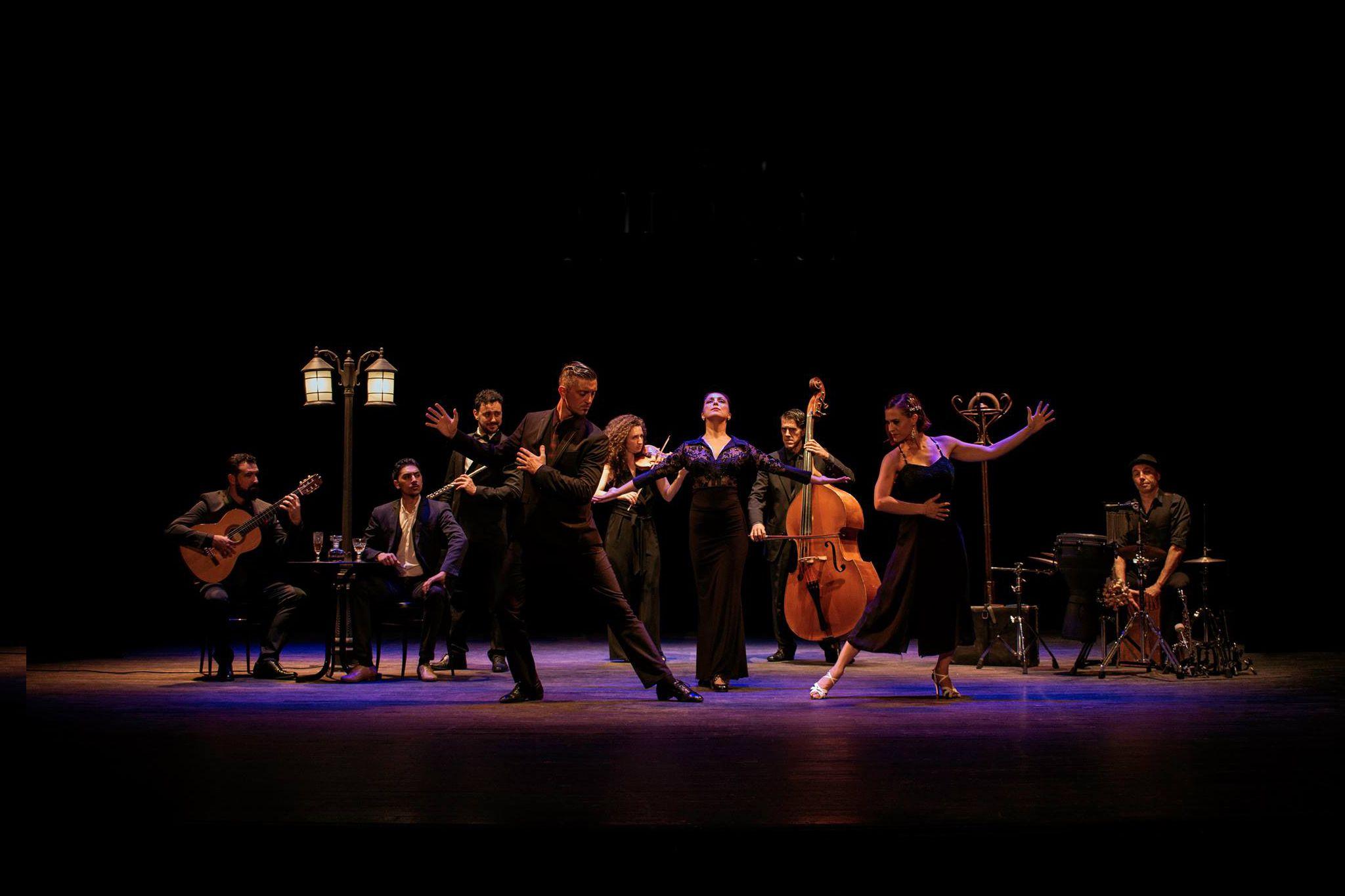 Compañía La Milonga flamenca de Málaga
