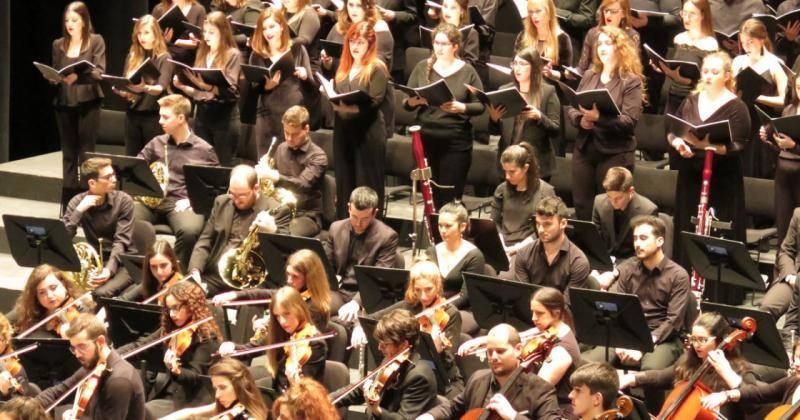 Componentes de la Orquesta Joven de Andalucía