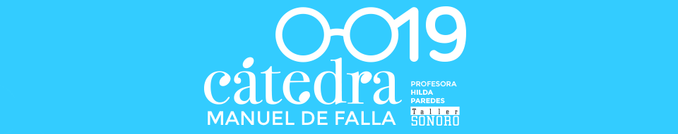 Imagen de la edición 2019 de la Cátedra Manuel de Falla