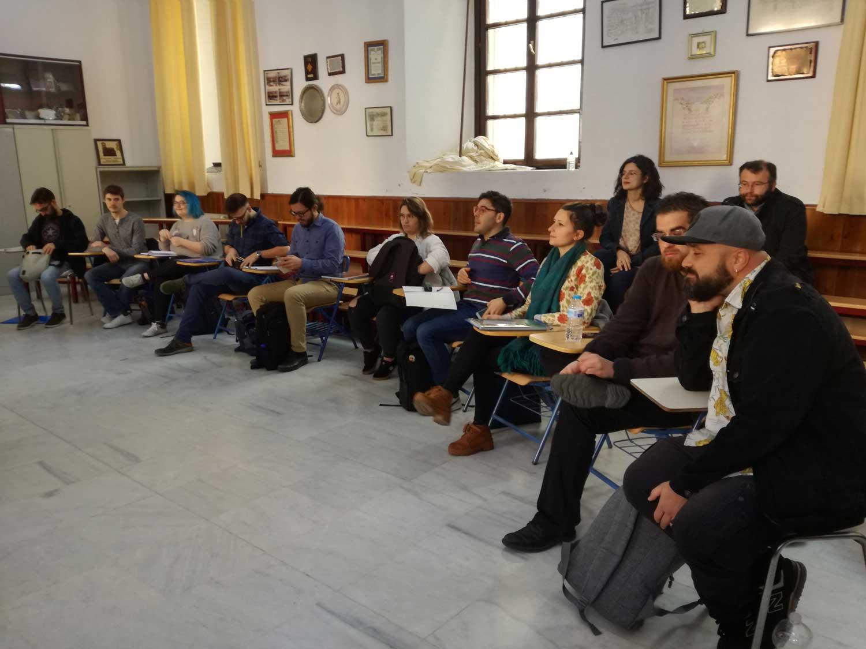 Primer encuentro de la Cátedra 2019 (fotografía: Marián Ruiz)