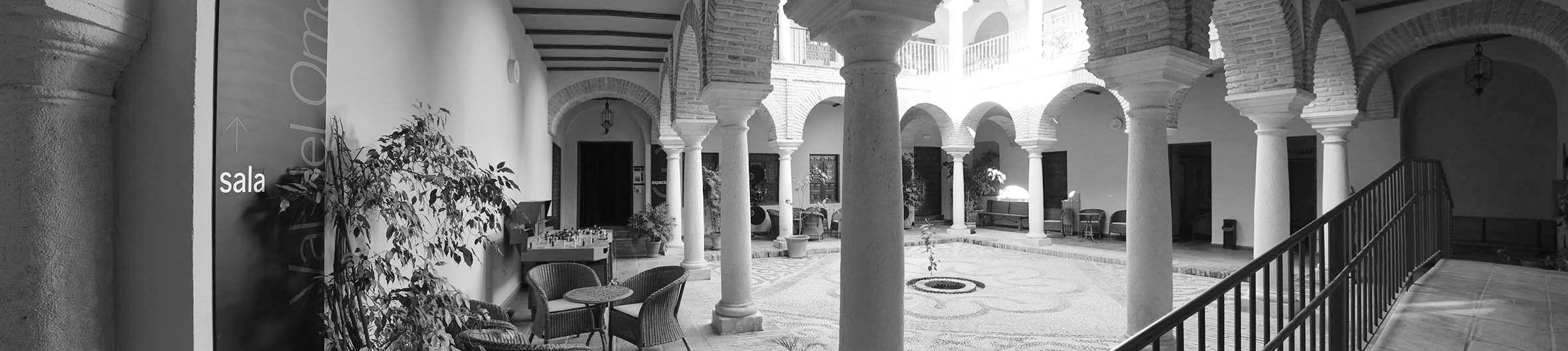 Patio de la Filmoteca de Andalucía