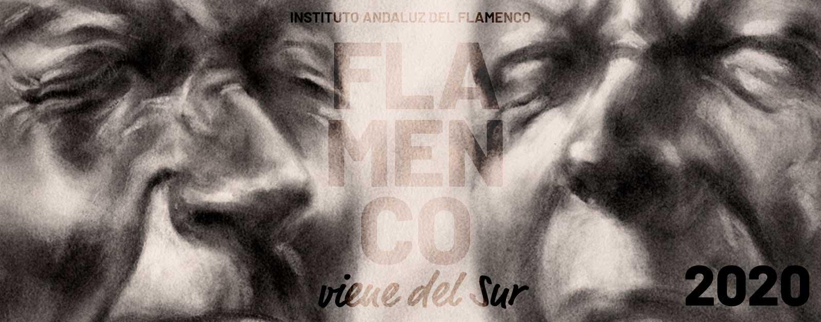 Imagen del cartel de la edición 2020 de Flamenco Viene del Sur