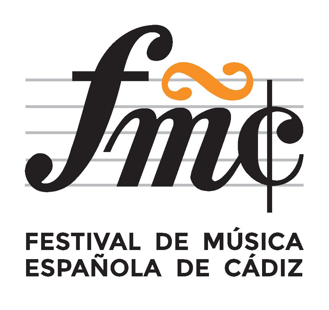 Isologo del Festival de Música Española de Cádiz