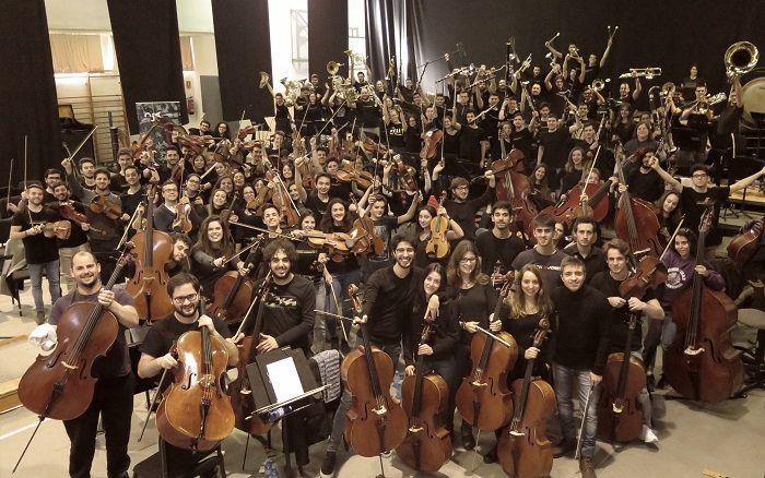 Orquesta Joven de Andalucía (fotografía: María Marí-Pérez)
