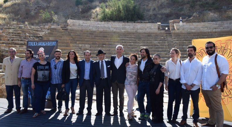 Durante la presentación de la programación de la edición 2018 del Festival de los Teatros Romanos