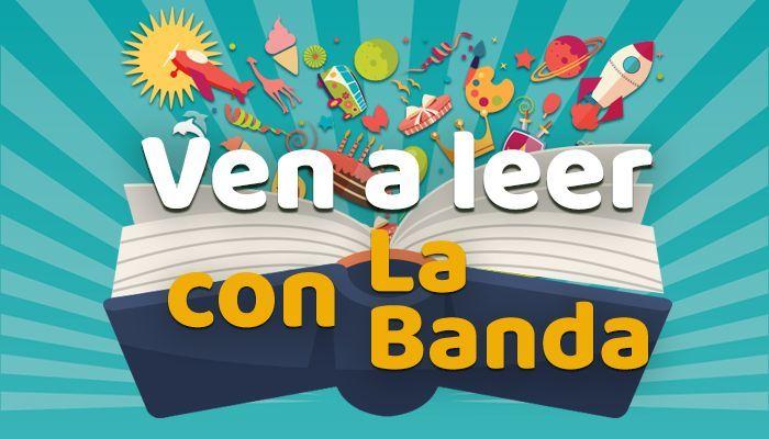 """Cartel del concurso """"Ven a leer con La Banda"""""""