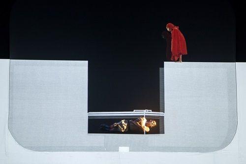 Una escena del espectáculo 'Miedo'
