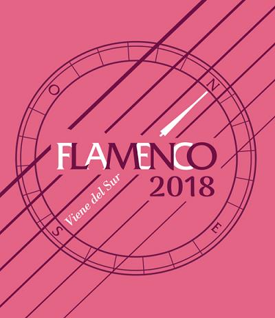 Logotipo de Flamenco Viene del Sur 2018