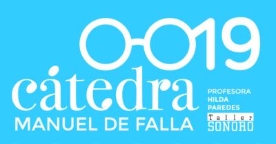 Imagnel del cartel de la edición 2019 de la Cátedra Manuel de Falla