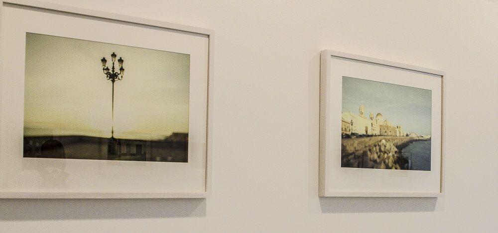 Joaquín Puga y José Ramón Ripoll. Exposición Música y Luz en Manuel de Falla © Antonio Barce