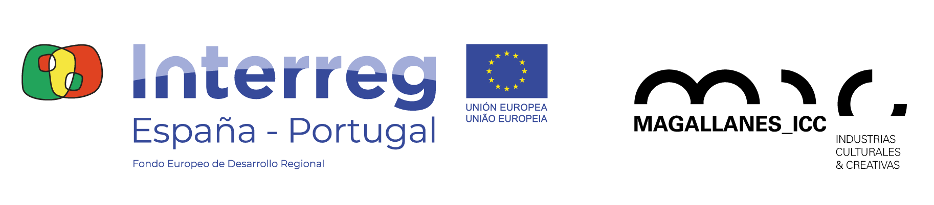 Logotipo proyecto Magalles + Interreg España-Portugal