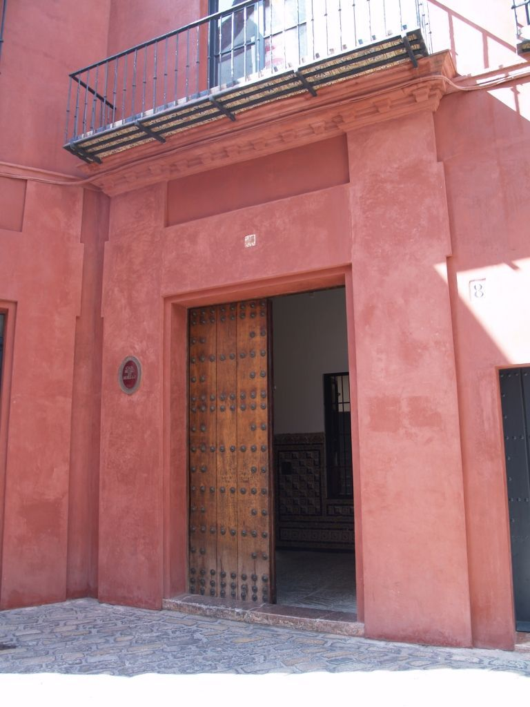 Sede del Instituto Andaluz de Flamenco. Fachada.
