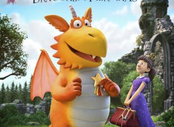 Cartel de 'Zog, dragones y heroínas'