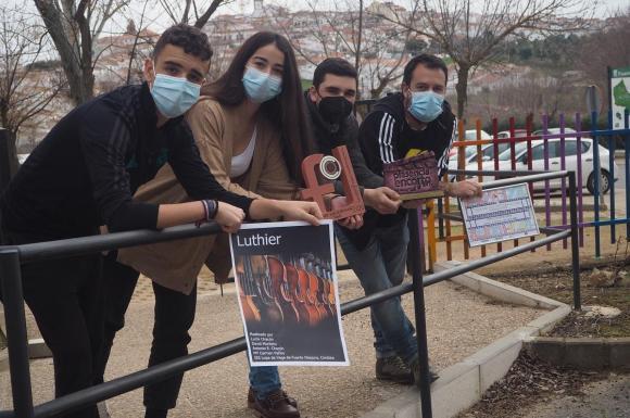 Estudiantes del IES Lope de Vega de Fuente Obejuna